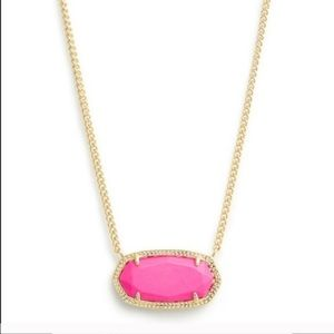 Kendra Scott pink necklace